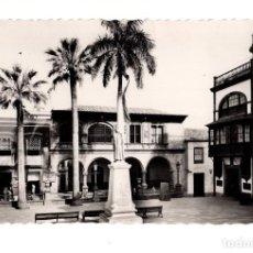 Postales: SANTA CRUZ DE LA PALMA.- AYUNTAMIENTO - HOTEL Y VILLE - CORPORATION. ED.ARRIBAS. Lote 132425430