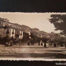 Postales: SANTA CRUZ DE TENERIFE RAMBLA DEL GENERALISIMO FRANCO. Lote 132757562
