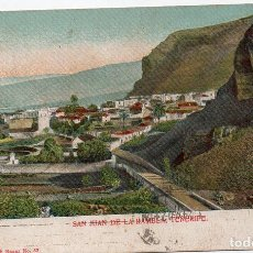 Postales: PS7891 TENERIFE 'SAN JUAN DE LA RAMBLA'. CIRCULADA. 1923. Lote 132997690