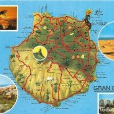 Postales: == PJ820 - POSTAL - GRAN CANARIA - VARIAS VISTAS. Lote 133372554