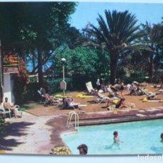 Postales: POSTAL. 124. LAS PALMAS DE GRAN CANARIA. PISCINA HOTEL SANTA CATALINA. ED. EDITORIAL CANARIA. Lote 134399342