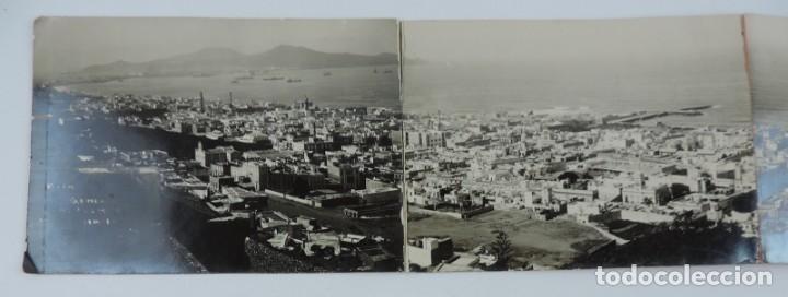 Postales: POSTAL FOTOGRAFICA SEXTUPLE DE LAS PALMAS DE GRAN CANARIA, VISTA GENERAL, GRAN TAMAÑO, MIDE 95 X 11, - Foto 2 - 135086138