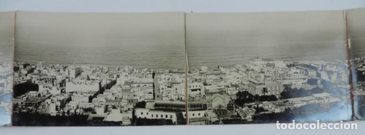 Postales: POSTAL FOTOGRAFICA SEXTUPLE DE LAS PALMAS DE GRAN CANARIA, VISTA GENERAL, GRAN TAMAÑO, MIDE 95 X 11, - Foto 3 - 135086138
