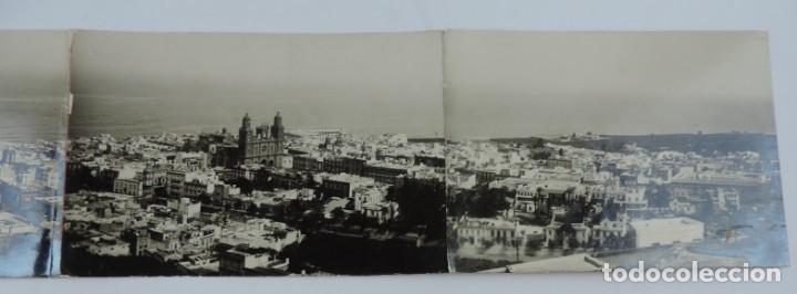 Postales: POSTAL FOTOGRAFICA SEXTUPLE DE LAS PALMAS DE GRAN CANARIA, VISTA GENERAL, GRAN TAMAÑO, MIDE 95 X 11, - Foto 4 - 135086138
