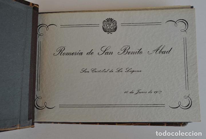 LA LAGUNA (TENERIFE) 1957 ALBUM DE 24 POSTALES DE LA ROMERÍA DE SAN BENITO ABAD. (Postales - España - Canarias Moderna (desde 1940))