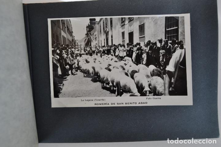Postales: La Laguna (Tenerife) 1957 Album de 24 postales de la Romería de San Benito Abad. - Foto 13 - 135249826