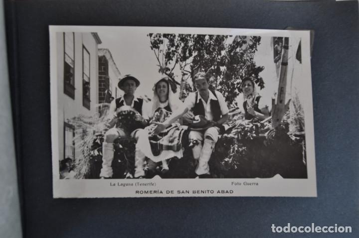 Postales: La Laguna (Tenerife) 1957 Album de 24 postales de la Romería de San Benito Abad. - Foto 15 - 135249826