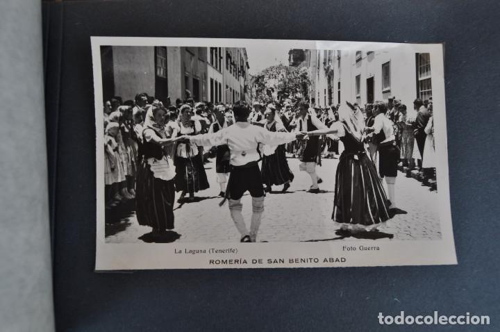 Postales: La Laguna (Tenerife) 1957 Album de 24 postales de la Romería de San Benito Abad. - Foto 16 - 135249826
