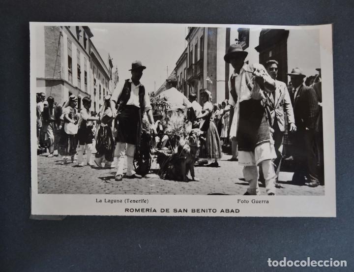 Postales: La Laguna (Tenerife) 1957 Album de 24 postales de la Romería de San Benito Abad. - Foto 18 - 135249826