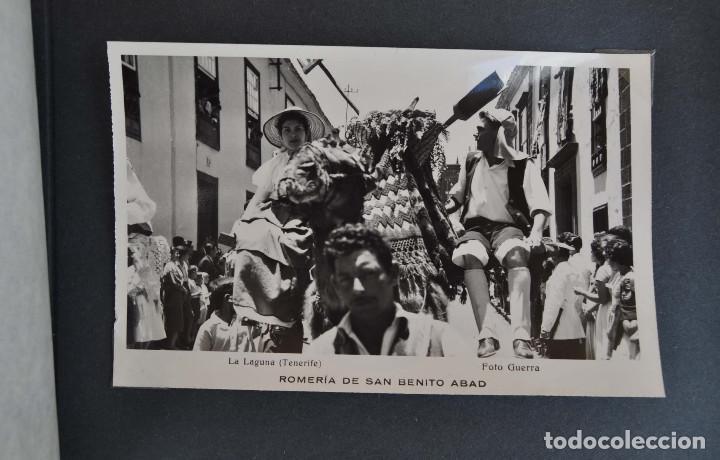 Postales: La Laguna (Tenerife) 1957 Album de 24 postales de la Romería de San Benito Abad. - Foto 19 - 135249826