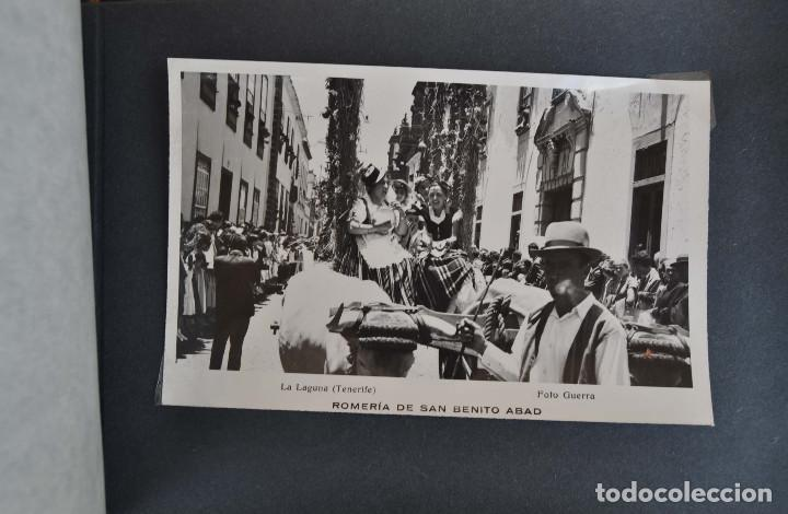 Postales: La Laguna (Tenerife) 1957 Album de 24 postales de la Romería de San Benito Abad. - Foto 21 - 135249826