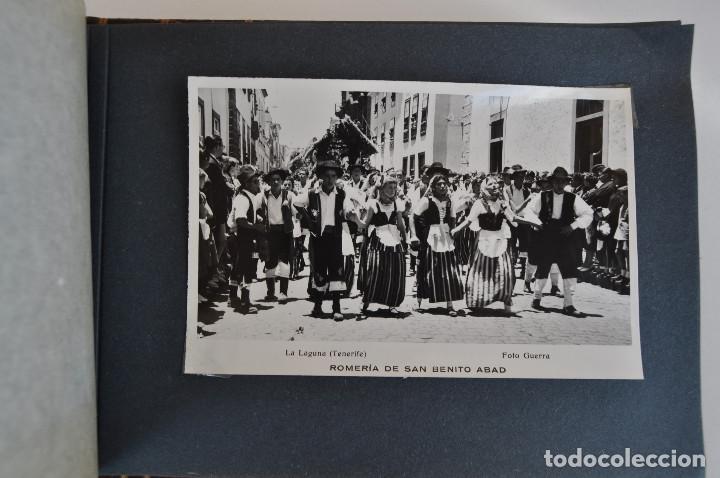 Postales: La Laguna (Tenerife) 1957 Album de 24 postales de la Romería de San Benito Abad. - Foto 22 - 135249826