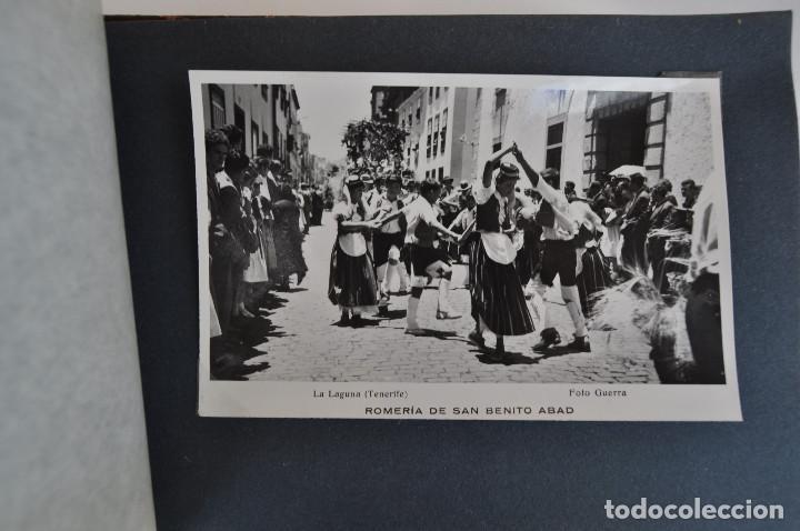 Postales: La Laguna (Tenerife) 1957 Album de 24 postales de la Romería de San Benito Abad. - Foto 24 - 135249826