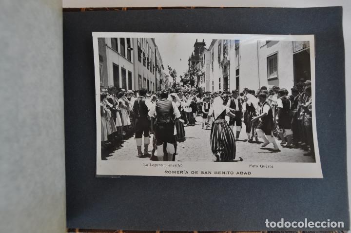 Postales: La Laguna (Tenerife) 1957 Album de 24 postales de la Romería de San Benito Abad. - Foto 25 - 135249826