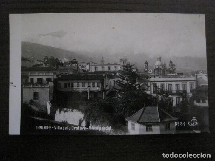 TENERIFE - JG 84 - VILLA DE LA OROTAVA . VISTA PARCIAL - FOTOGRAFICA - (53.323) (Postales - España - Canarias Antigua (hasta 1939))