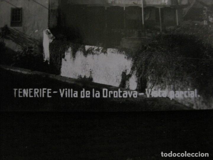 Postales: TENERIFE - JG 84 - VILLA DE LA OROTAVA . VISTA PARCIAL - FOTOGRAFICA - (53.323) - Foto 2 - 135450126
