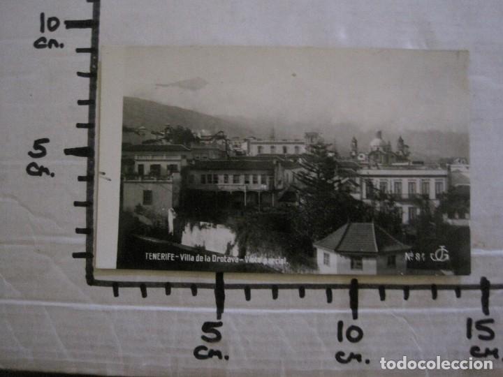 Postales: TENERIFE - JG 84 - VILLA DE LA OROTAVA . VISTA PARCIAL - FOTOGRAFICA - (53.323) - Foto 5 - 135450126