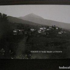 Postales: TENERIFE - JG 35 - EL TEIDE DESDE LA VICTORIA - FOTOGRAFICA - (53.324). Lote 135450346