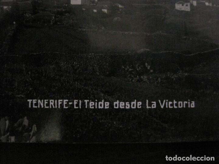 Postales: TENERIFE - JG 35 - EL TEIDE DESDE LA VICTORIA - FOTOGRAFICA - (53.324) - Foto 2 - 135450346