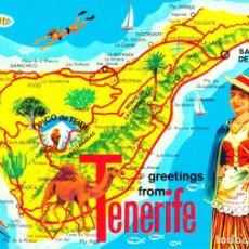Postales: TENERIFE - (JOHN HINDE Nº 2CT 252) SIN CIRCULAR / P-4972. Lote 135702951