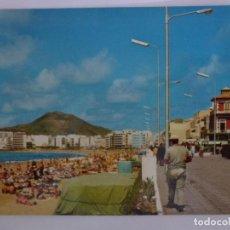 Postales: POSTAL. LAS PALMAS DE GRAN CANARIA. PASEO Y PLAYA DE LAS CANTERAS. ED. DE CASA HAMBURGO. NO ESCRITA.. Lote 136740298