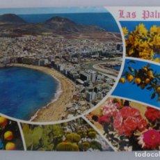 Postales: POSTAL. GRAN CANARIA. SOUVENIR DE LAS PALMAS. COLECCIÓN HOLIDAYS. Nº 153. NO ESCRITA. . Lote 136741654