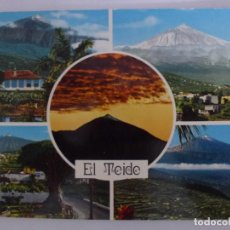 Postales: POSTAL. TENERIFE. CINCO VISTAS DEL MAJESTUOSO Y ARROGANTE TEIDE. ED. JOHN HINDE. NO ESCRITA.. Lote 136742166