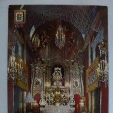 Postales: POSTAL. 161. TEROR. GRAN CANARIA. SANTUARIO E IMAGEN DE NTRA. SRA. LA VIRGEN DEL PINO. . Lote 136742658