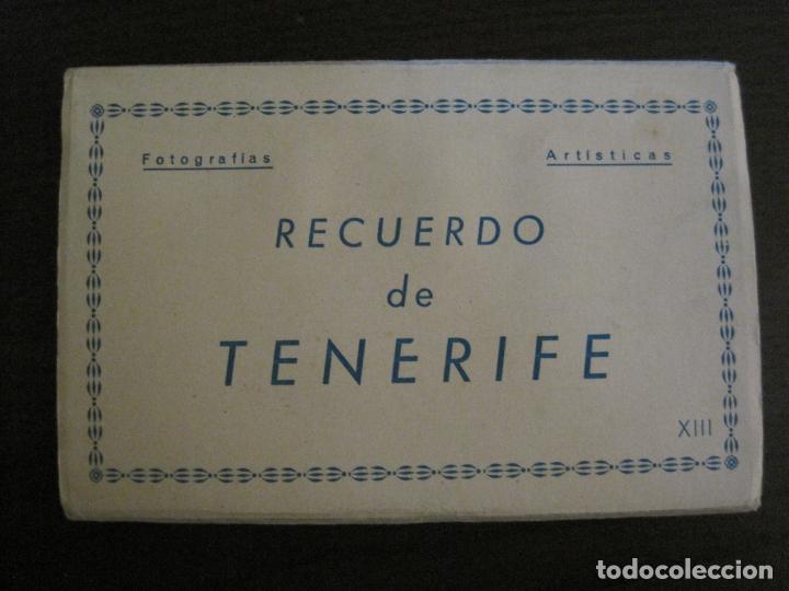 TENERIFE - BLOC DE 10 POSTALES - SANTA CRUZ, LA LAGUNA & TENERIFE - EDICIONES ARRIBAS - (53.504) (Postales - España - Canarias Antigua (hasta 1939))