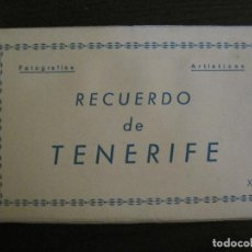 Postales: TENERIFE - BLOC DE 10 POSTALES - SANTA CRUZ, LA LAGUNA & TENERIFE - EDICIONES ARRIBAS - (53.504). Lote 136861454