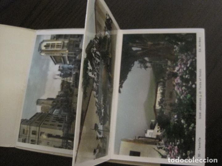 Postales: TENERIFE - BLOC DE 10 POSTALES - SANTA CRUZ, LA LAGUNA & TENERIFE - EDICIONES ARRIBAS - (53.504) - Foto 3 - 136861454