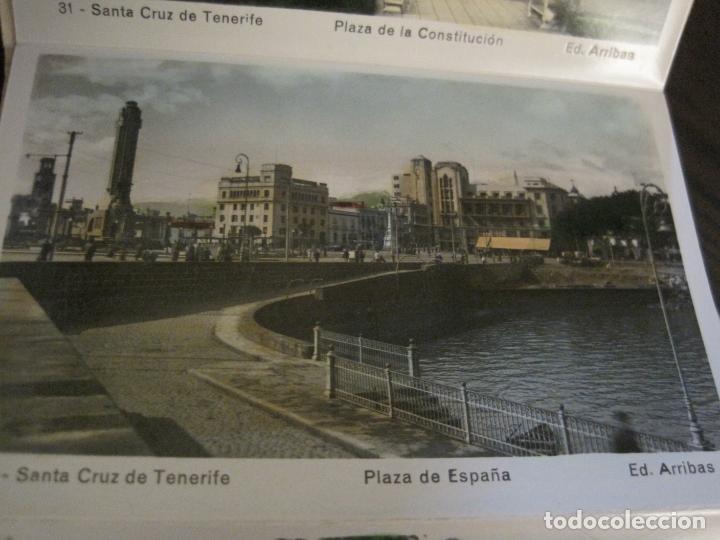 Postales: TENERIFE - BLOC DE 10 POSTALES - SANTA CRUZ, LA LAGUNA & TENERIFE - EDICIONES ARRIBAS - (53.504) - Foto 5 - 136861454
