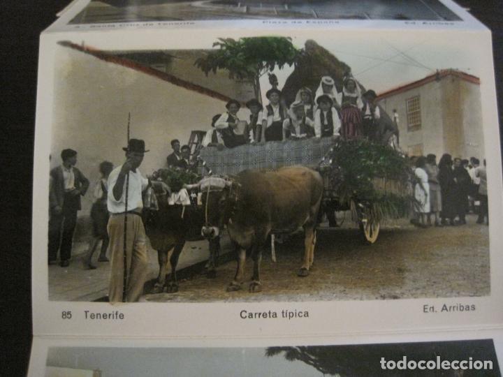 Postales: TENERIFE - BLOC DE 10 POSTALES - SANTA CRUZ, LA LAGUNA & TENERIFE - EDICIONES ARRIBAS - (53.504) - Foto 6 - 136861454