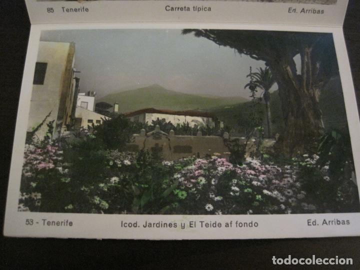 Postales: TENERIFE - BLOC DE 10 POSTALES - SANTA CRUZ, LA LAGUNA & TENERIFE - EDICIONES ARRIBAS - (53.504) - Foto 7 - 136861454