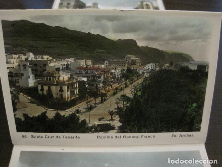 Postales: TENERIFE - BLOC DE 10 POSTALES - SANTA CRUZ, LA LAGUNA & TENERIFE - EDICIONES ARRIBAS - (53.504) - Foto 8 - 136861454