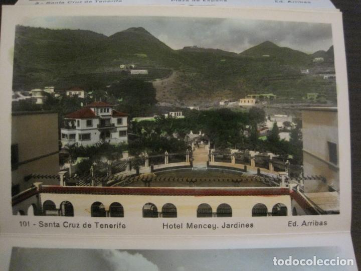 Postales: TENERIFE - BLOC DE 10 POSTALES - SANTA CRUZ, LA LAGUNA & TENERIFE - EDICIONES ARRIBAS - (53.504) - Foto 10 - 136861454