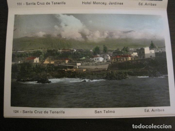 Postales: TENERIFE - BLOC DE 10 POSTALES - SANTA CRUZ, LA LAGUNA & TENERIFE - EDICIONES ARRIBAS - (53.504) - Foto 11 - 136861454