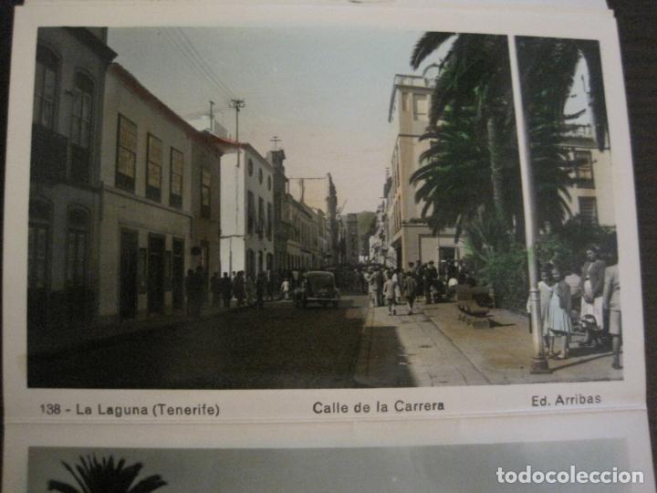 Postales: TENERIFE - BLOC DE 10 POSTALES - SANTA CRUZ, LA LAGUNA & TENERIFE - EDICIONES ARRIBAS - (53.504) - Foto 12 - 136861454