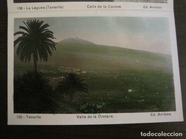 Postales: TENERIFE - BLOC DE 10 POSTALES - SANTA CRUZ, LA LAGUNA & TENERIFE - EDICIONES ARRIBAS - (53.504) - Foto 13 - 136861454