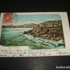 Postales: LAS PALMAS GRAN CANARIA VISTA REVERSO SIN DIVIDIR. Lote 138771954