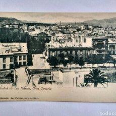 Postales: POSTAL CIUDAD DE LAS PALMAS, GRAN CANARIA.. Lote 140259208