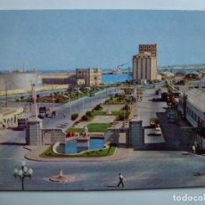 Postales: POSTAL. 155. LAS PALMAS DE GRAN CANARIA. ENTRADA MUELLES PUERTO DE LA LUZ. . Lote 140383162