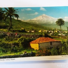 Postales: BJS.LINDA PANORAMICA TENERIFE.CANARIAS.ESCRITA.JOHN HINDE.. Lote 141278874