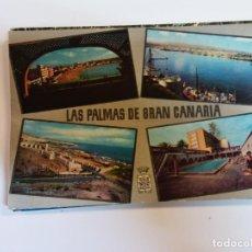 Postales: BJS.LAS PALMAS.CANARIAS.CIRCULADA.EDT CANARIA.N 1008.. Lote 141283682