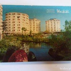 Postales: BJS.HOTEL WAIKIKI. CANARIAS.CIRCULADA.EDT. PIBLIGET.. Lote 141285434