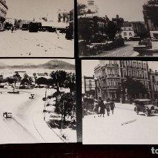 Postales: 4 ANTIGUAS POSTALES ENTRE 1934-1940 LAS PALMAS DE GRAN CANARIA COPIAS. Lote 143553610