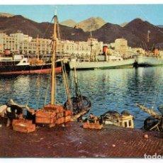 Postales: TARJETA POSTAL - SANTA CRUZ DE TENERIFE / EL MUELLE DE PESCADORES. Lote 142680806
