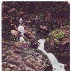 Postales: LAS PALMAS DE GRAN CANARIA: WATERFALL. BAZAR ALEMÁN. SIN DIVIDIR. NO CIRCULADA (ANTERIOR A 1905). Lote 142888450