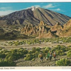 Postales: EL TEIDE - TENERIFE - CANARY ISLANDS. Lote 143050018