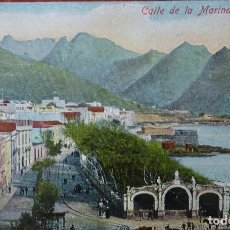 Postales: TENERIFE - CALLE DE LA MARINA. Lote 143154174
